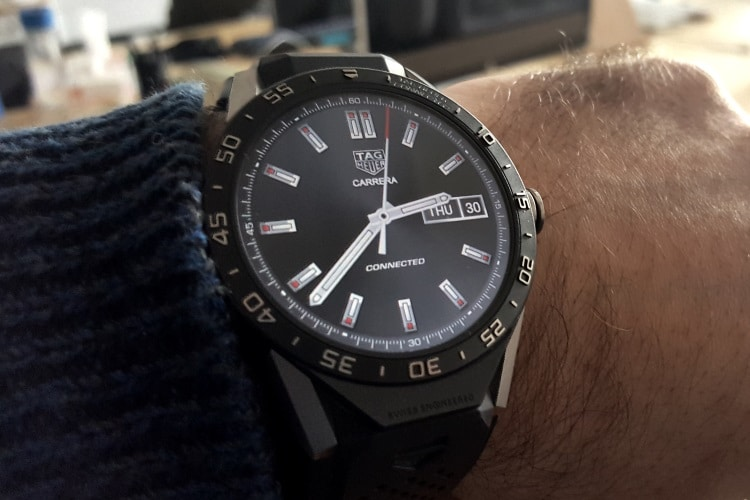 tag heuer connected watch lifestyle