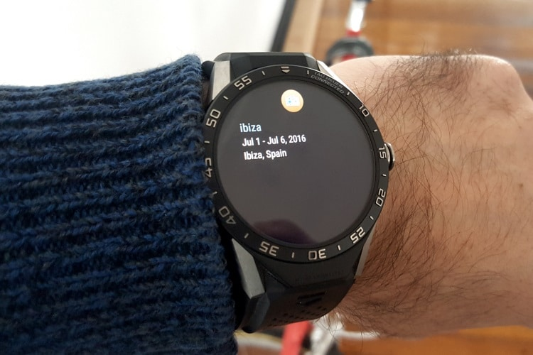 tag heuer connected watch location tracking