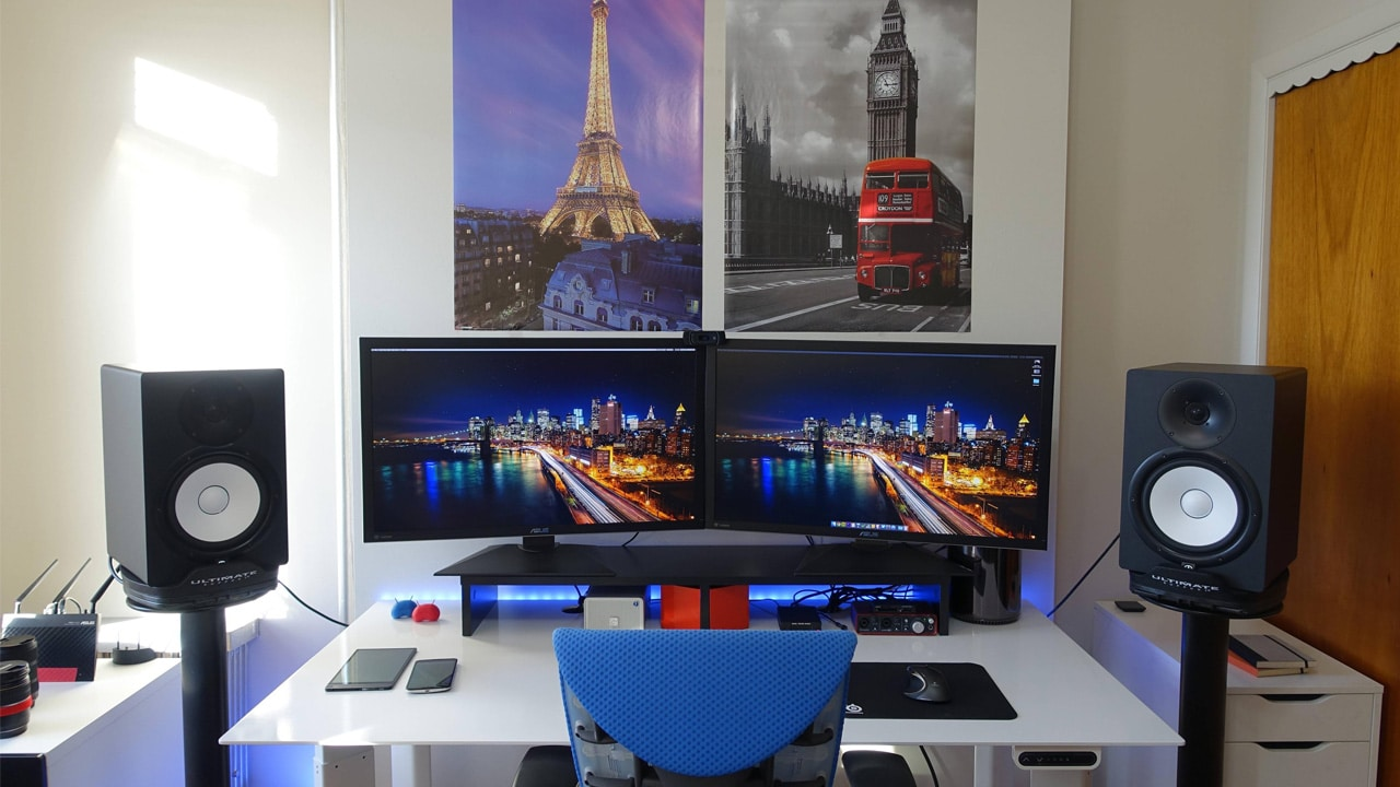 geared up mkbhd desk setup and gear