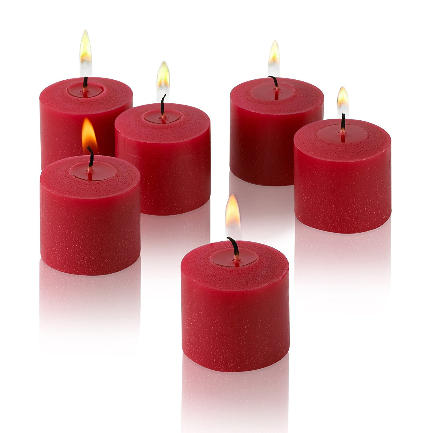 10 hour red apple cinnamon scented votive candles