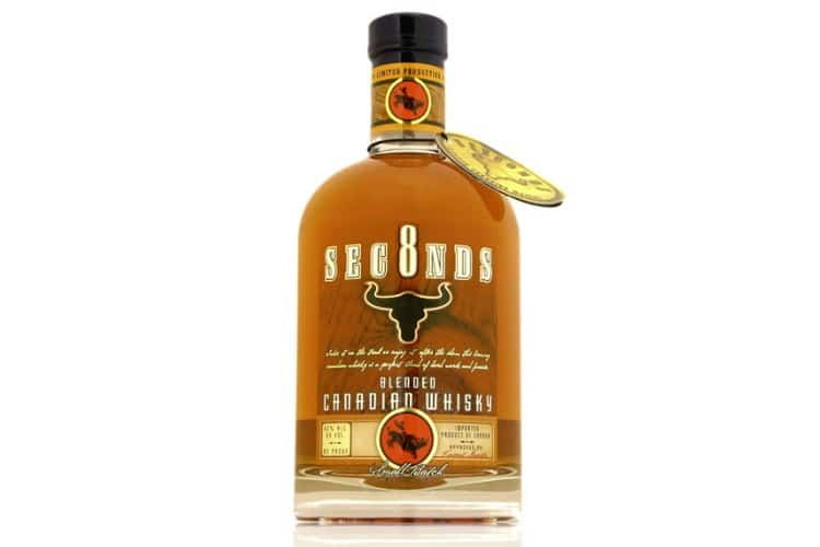 8 seconds honey cinnamon whisky