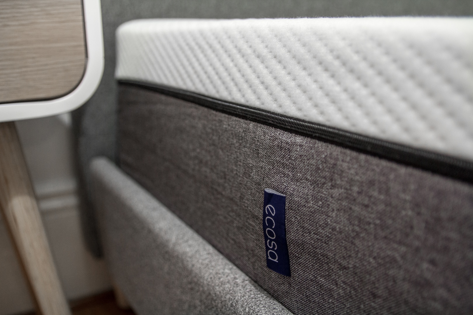ecosa mattress left view