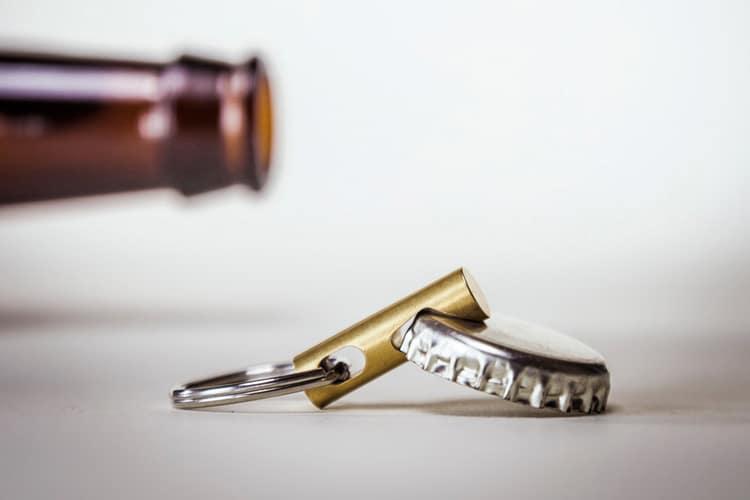 futurerelic cnc brass keychain tool