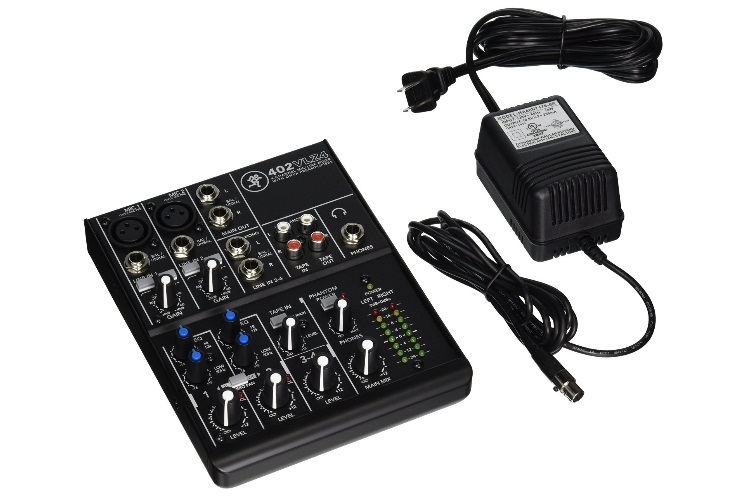 mackie 402vlz4 4 channel ultra compact mixer