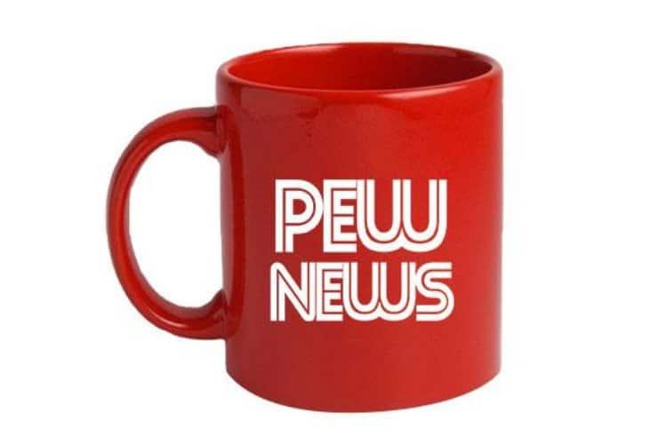 pew news mug