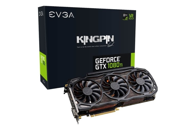 dual 11gb nvidia evga gtx geforce 1080 ti