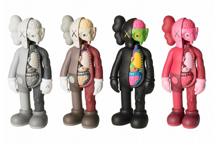 kaws companion open edition figurines