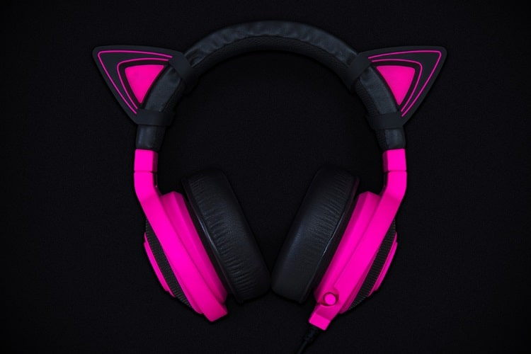 kitty ears for razer kraken