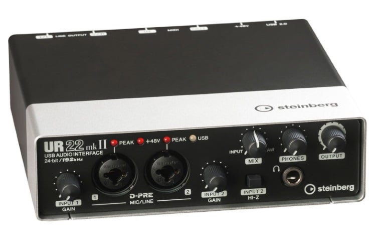 steinberg ur22mkii 2 channel usb interface
