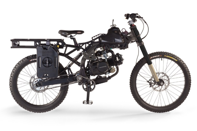 motoped black ops survival bike feature