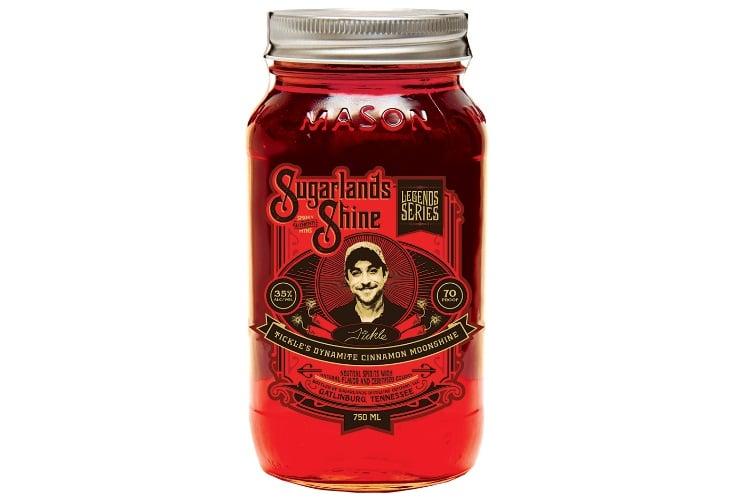 tickle's dynamite cinnamon moonshine