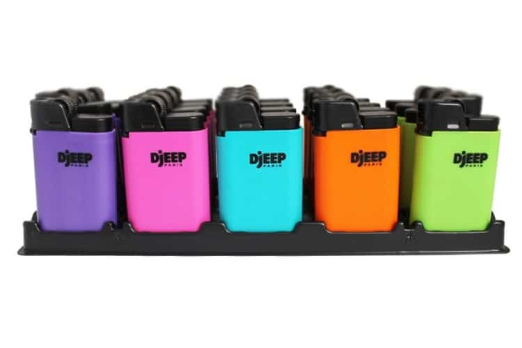 djeep disposable lighter colours