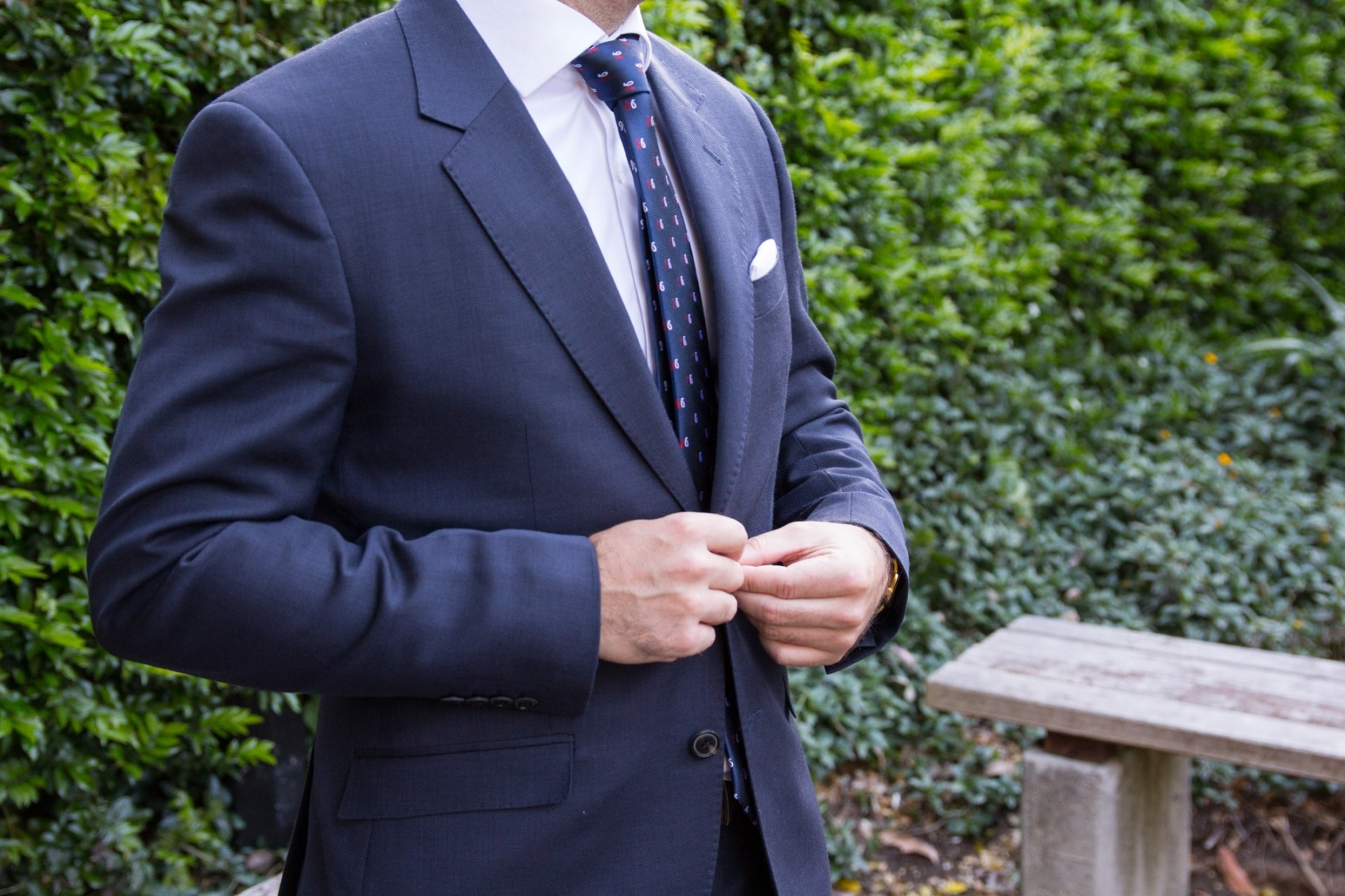 body fitted peter jackson suit