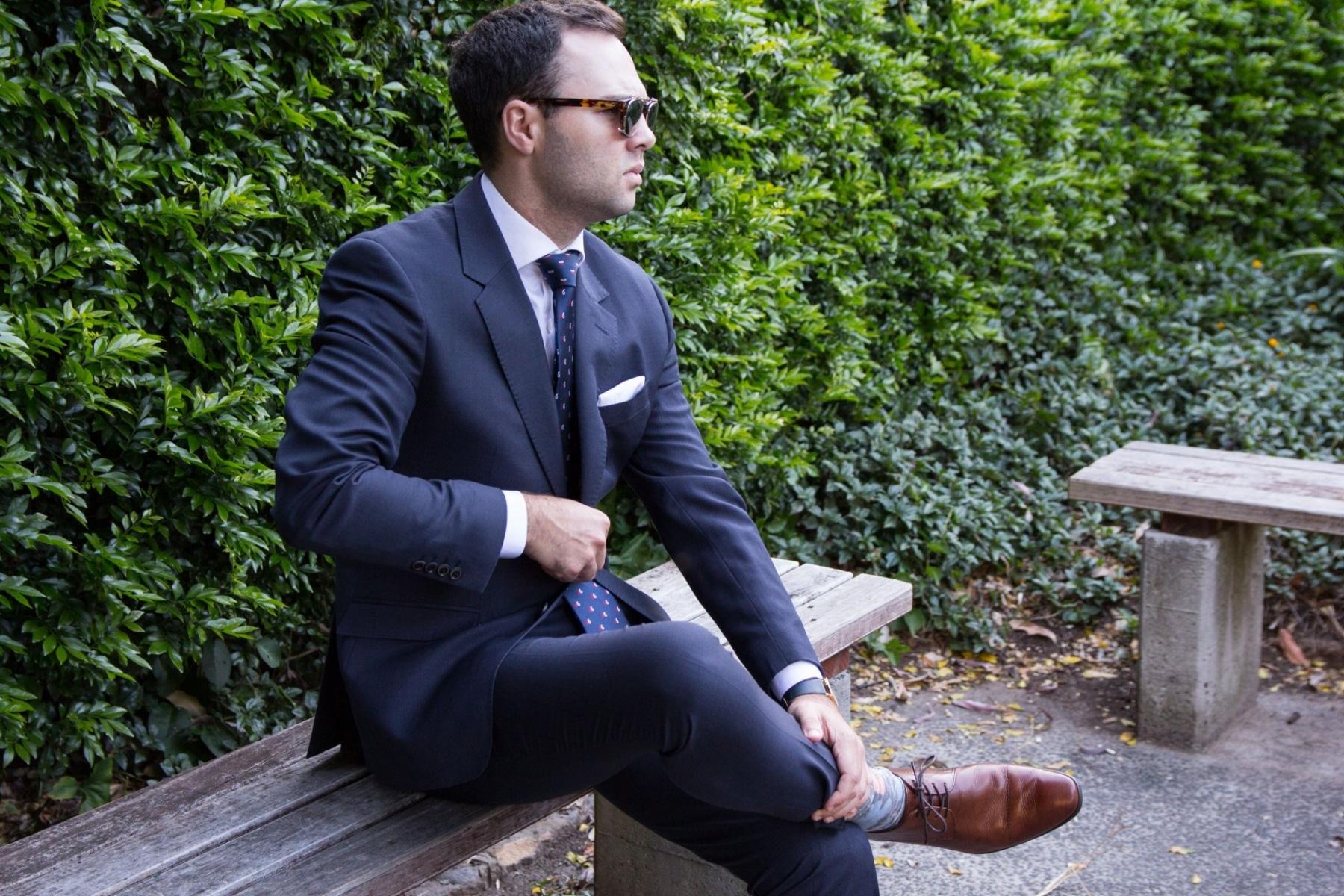 men wearing peter jackson suit