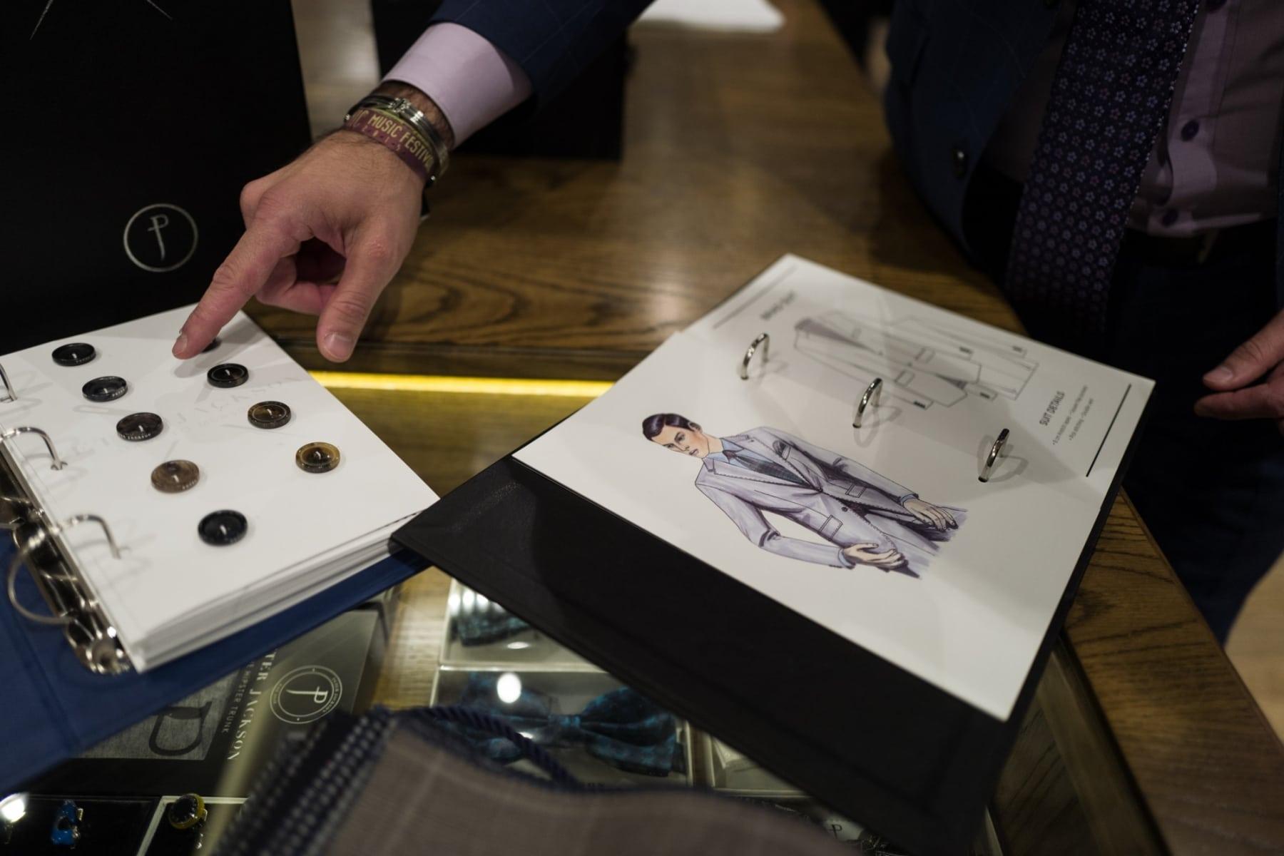 peter jackson suit button