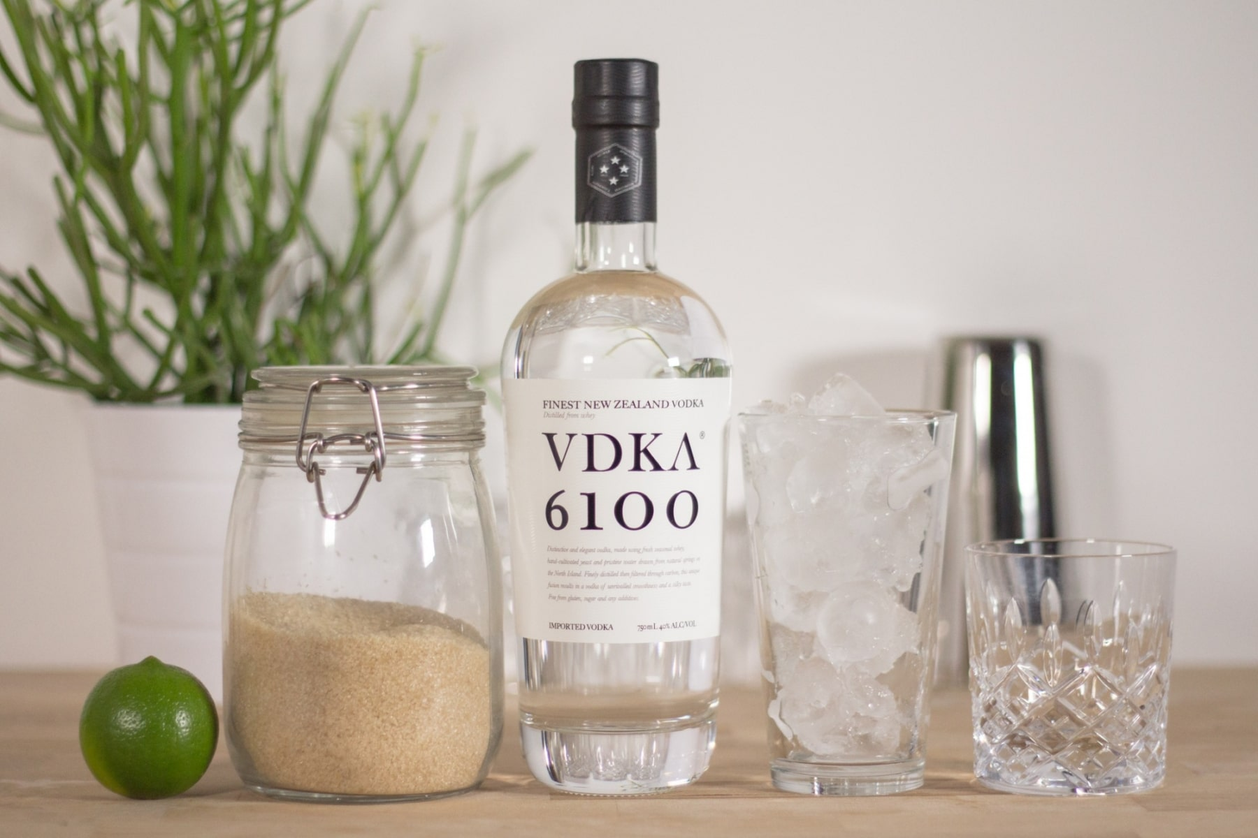 vdka 6100 bottle view