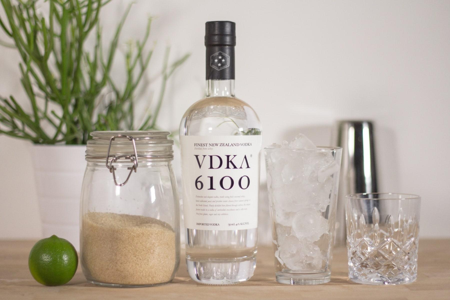 vdka 6100 bottle view