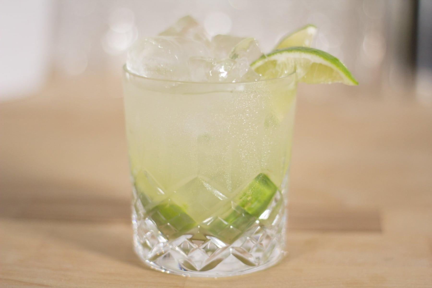 complete vodka recipe in glass