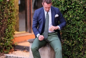 Colour Coordinate an mens style