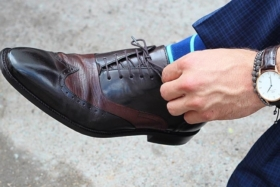 new style of dress shoe