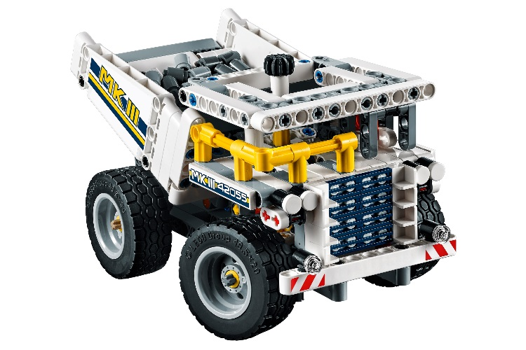 lego technic bucket wheel excavator truck