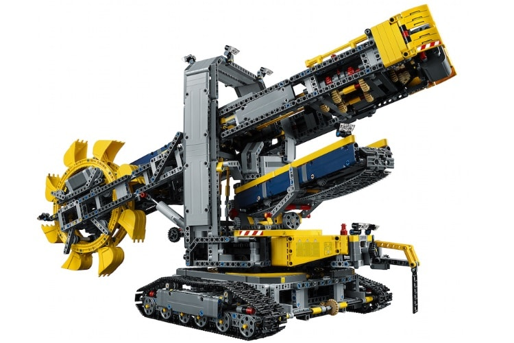 lego technic wheel colossal excavator