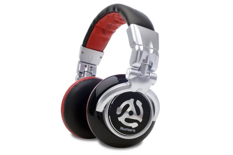 numark red wave professional over ear dj headphone