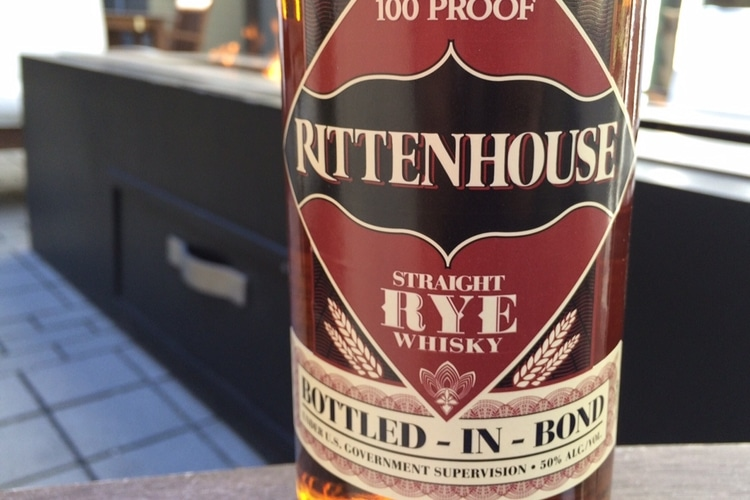 History of rittenhouse rye whisky