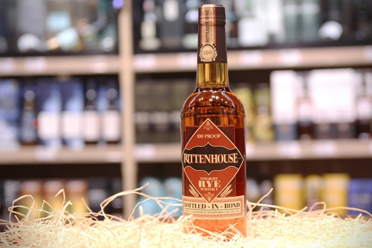 rittenhouse bottle full view