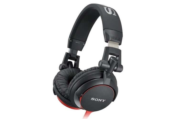 sony mdrv55 extra bass and dj headphone