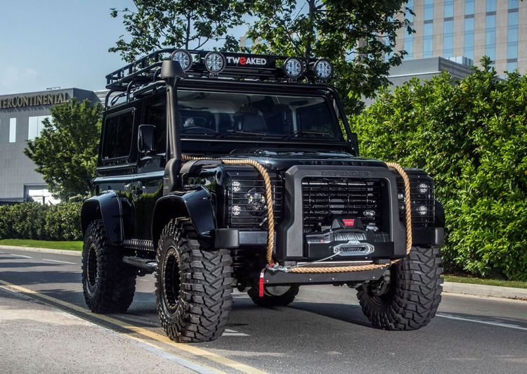 land rover defender 90 spectre edition