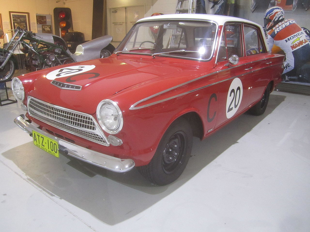 1963 cortina gt armstrong 500