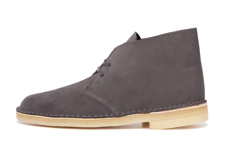 clarks suede desert stylishly smart boot