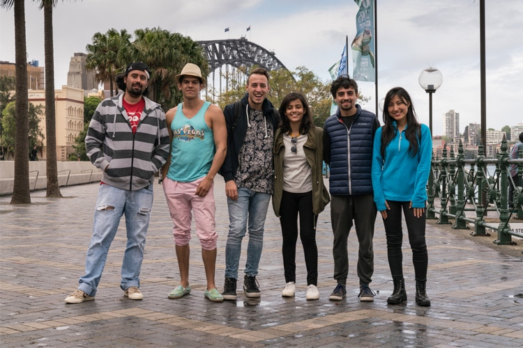 toyota global street band group photo