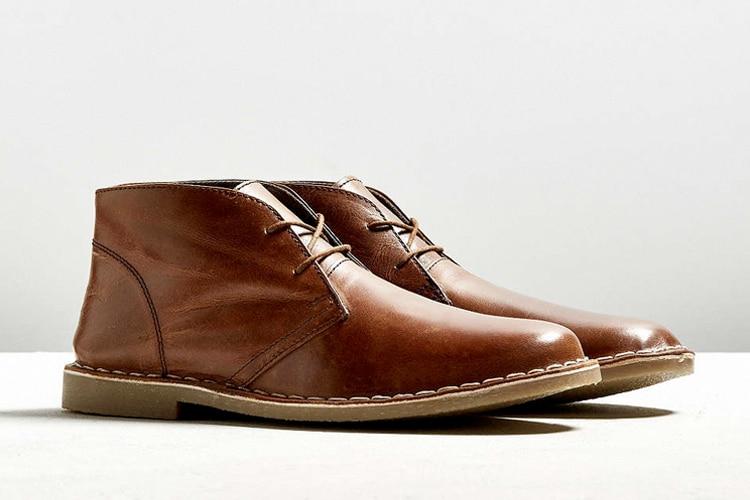 uo leather desert stylishly smart boot