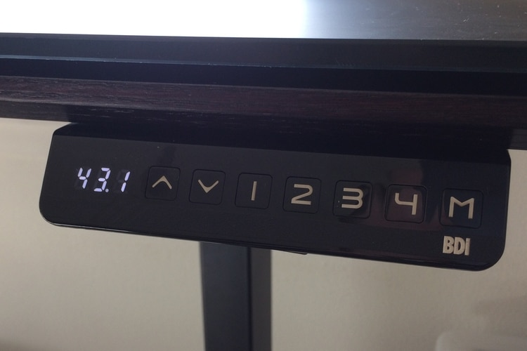 bdi sequel desk keypad