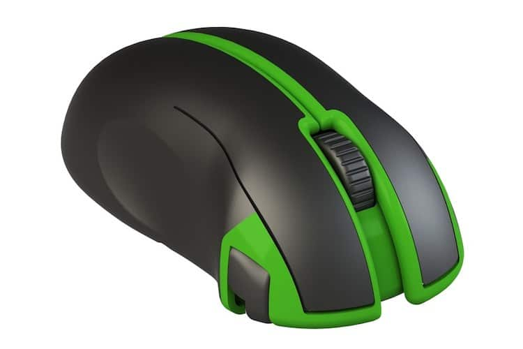 scrab xyab mouse with folding gamepad