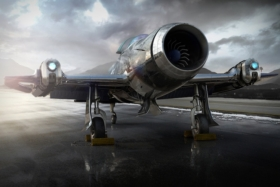 amelia 7 fighter jet launched