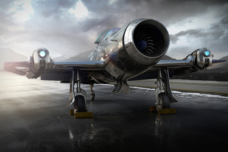 History And The Future Combine Forces Amelia 7 Fighter