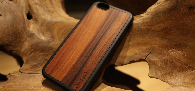 tech head artsn goods rosewood iphone case