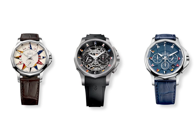 corum admiral cup collection watch