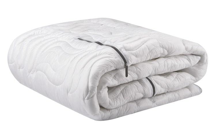 bedgear warm california king blanket in white