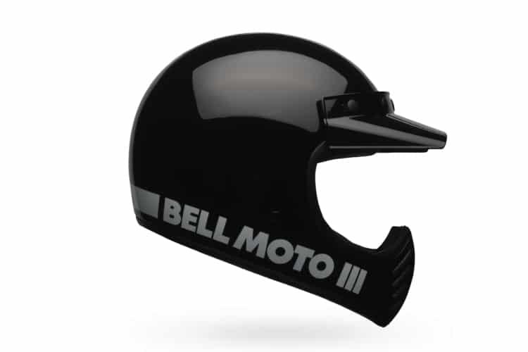 bell moto 3 helmet black