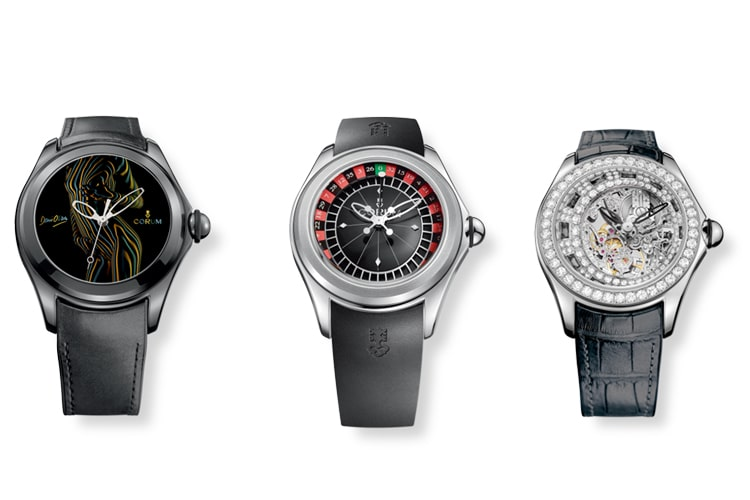 corum bubble collection watches