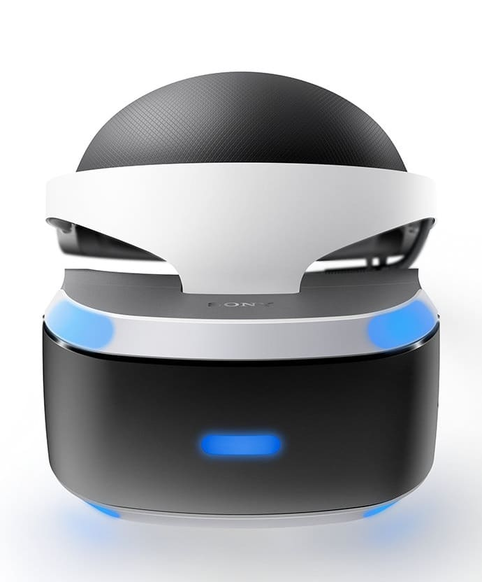 sony playstation vr box