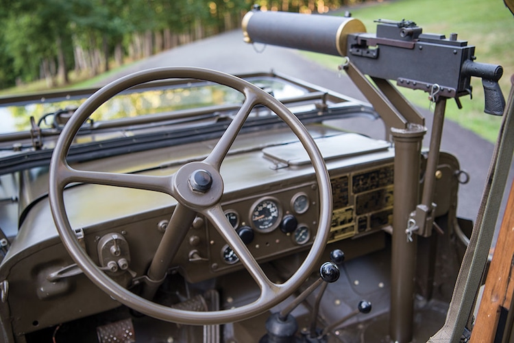 1950 willys m38 jeep steering