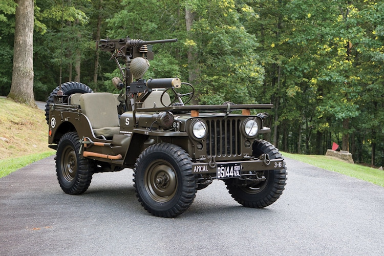 1950 willys m38 jeep front