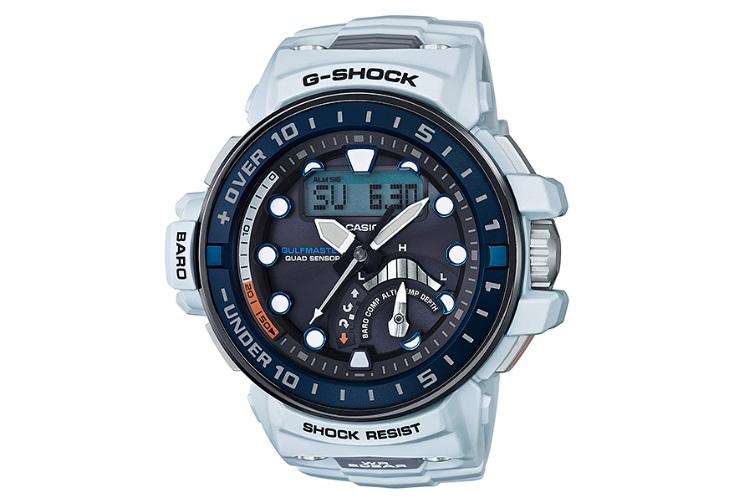 casio g shock white watches