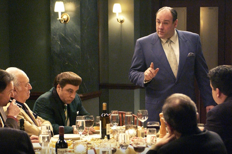 man of character tony soprano dinner