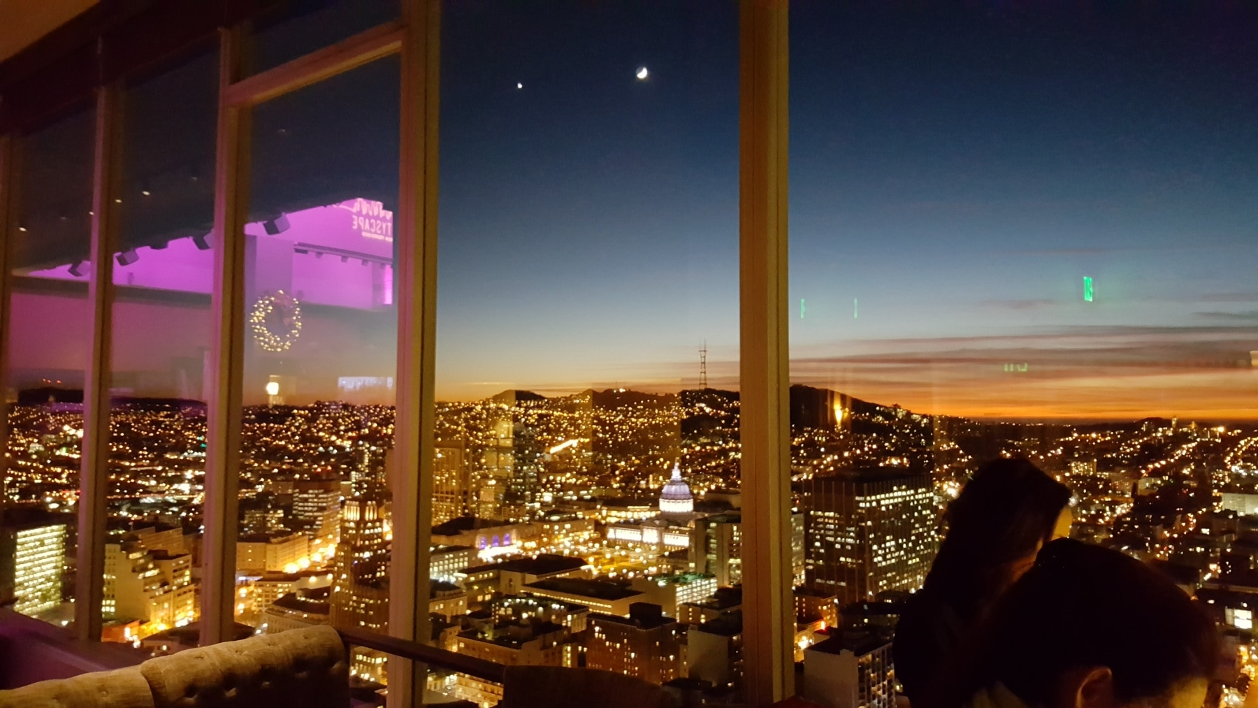 outside view in the hilton san francisco union